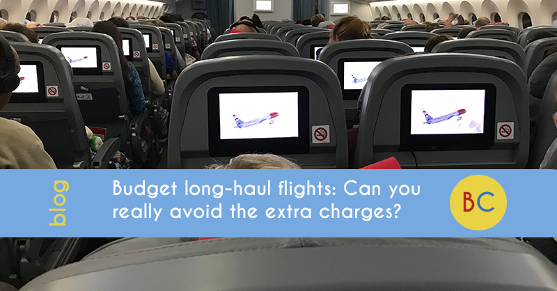 Budget long-haul flights - can you avoid the extra charges