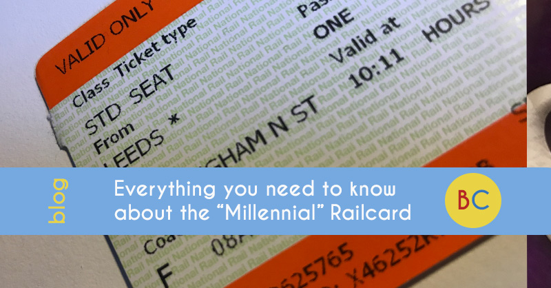 """Everything you need to know about the """"Millennial"""" Railcard"""