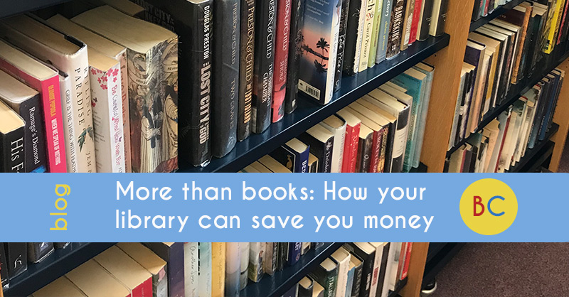 More than books: How your library can save you money
