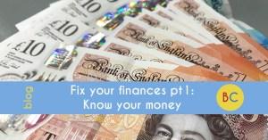 fix your finances, know your money