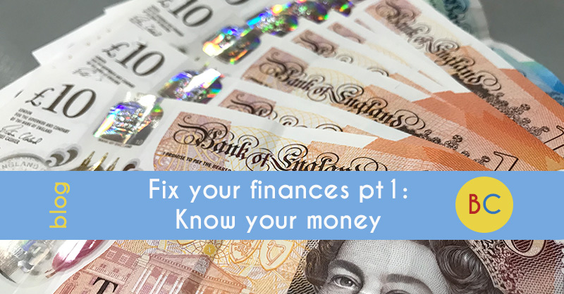 Fix your finances in 2019 pt1: Know your money