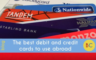 The best debit and credit cards to use abroad