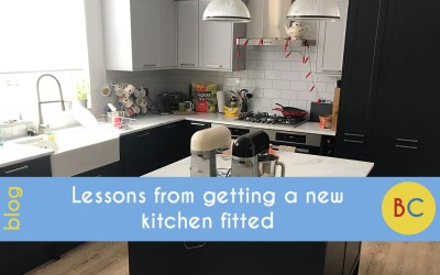 Lessons from getting a new kitchen fitted