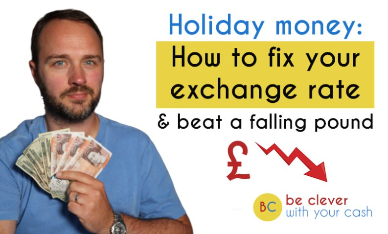 Holiday money: How to fix your exchange rate & beat a falling pound