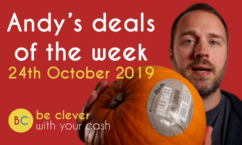Andy's deals of the week - 24th October 2019