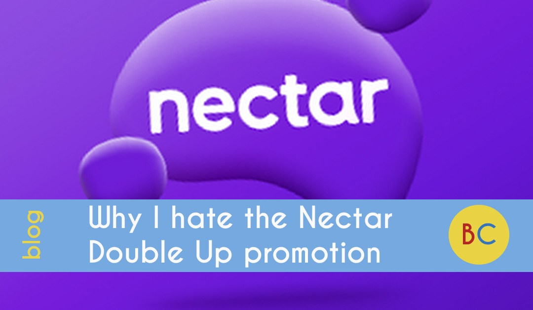 Why I hate the Nectar double up points promotion at Sainsbury's (and how to get the best out of it)