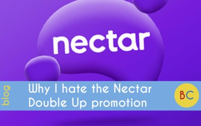 Why I hate the Nectar double-up points promotion at Sainsbury's (and how to get the best out of it)