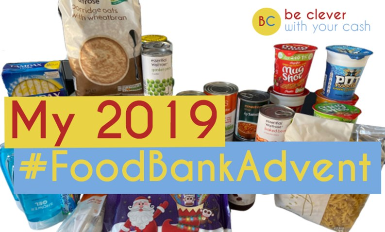 #FoodBankAdvent 2019 - Time to donate your collections