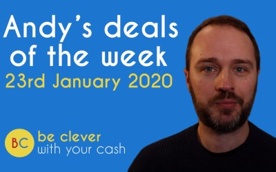 Andy's deals of the week 23rd January 2020