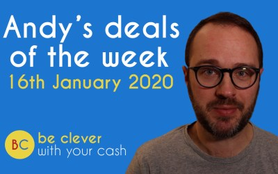 Andy's deals of the week 16th January 2020