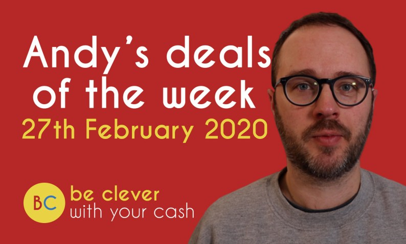 Andy's deals of the week - 27th February 2020