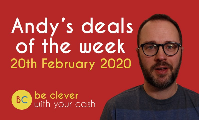 Andy's deals of the week - 20th February 2020