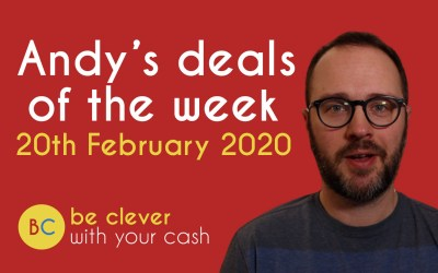 Andy's deals of the week – 20th February 2020
