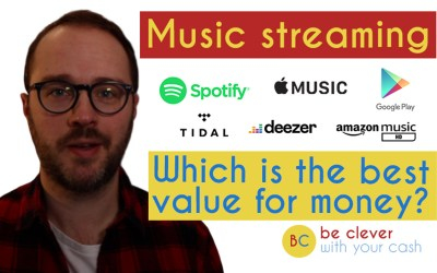 Spotify vs Apple Music vs Amazon Music vs Tidal & more