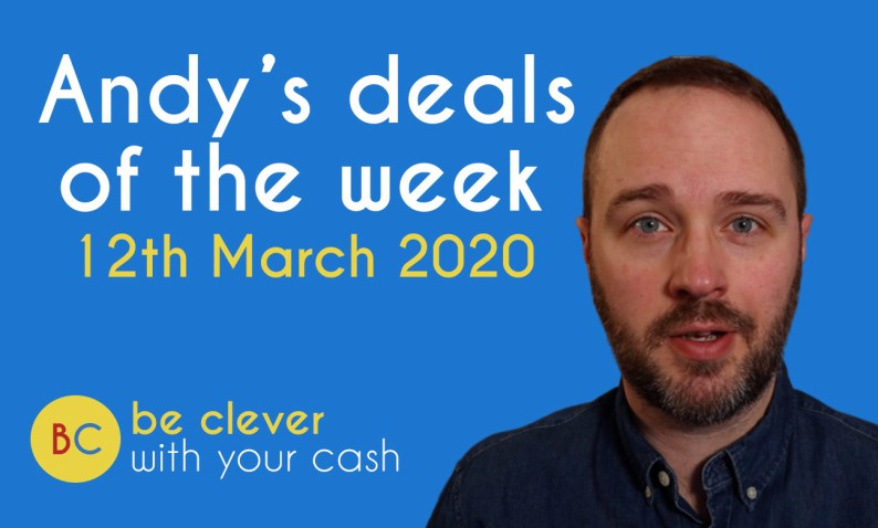 Andy's deals of the week 12th March 2020