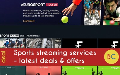 Sports streaming services – deals and offers