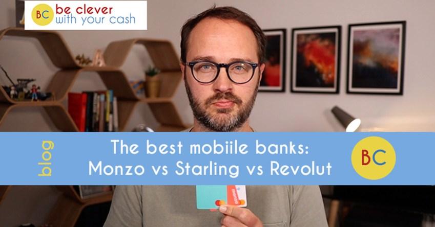The best mobile bank: Monzo vs Starling vs Revolut vs Monese