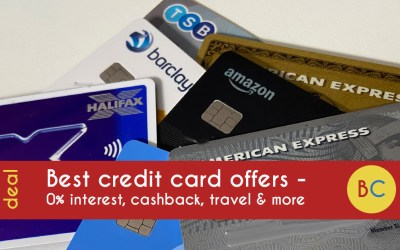 Best credit card offers and promotions