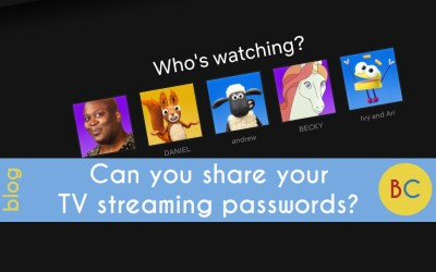Should you be sharing your TV streaming subscription passwords?