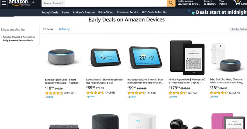 Amazon Prime Day: The best offers and deals