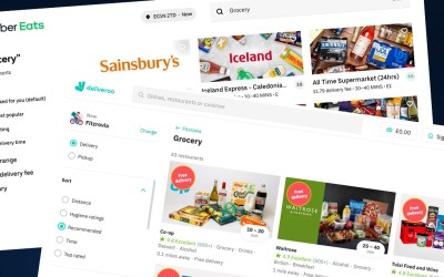 Supermarkets on Deliveroo and Uber Eats: Good or bad?