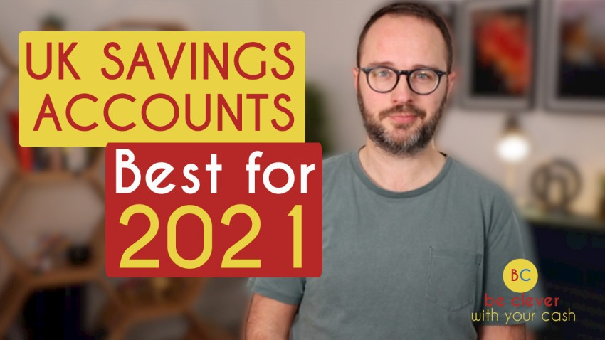 Top three savings accounts for 2021