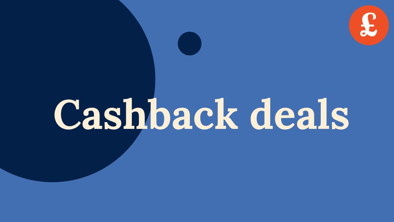 cashback deals