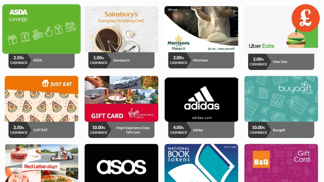 gift card deals and offers