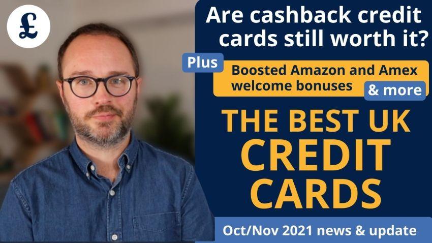 October/November 2021's credit card news & round-up