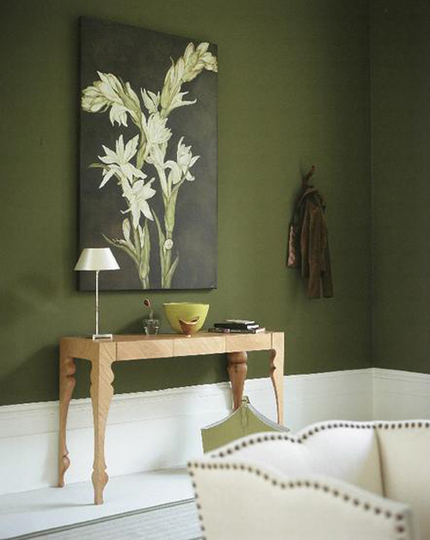 Becolorful Color of the Week  Greens