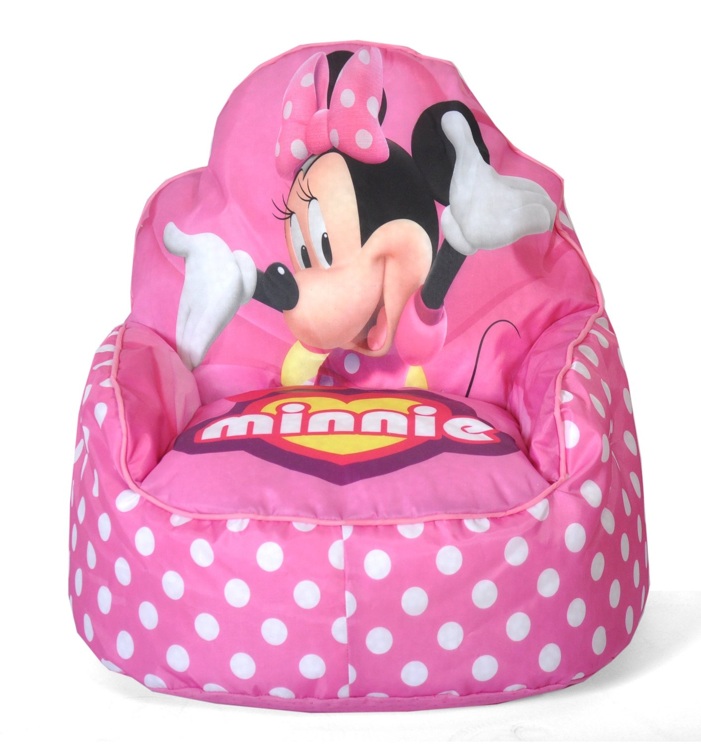 minnie mouse upholstered chair folding target toddler bean bag sofa lowest price