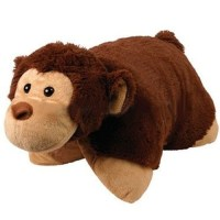 "14"" Cuddlee Pet Pillow Monkey Only $6.99 + FREE Shipping!"