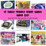 10 Family Friendly Board Games Under 10