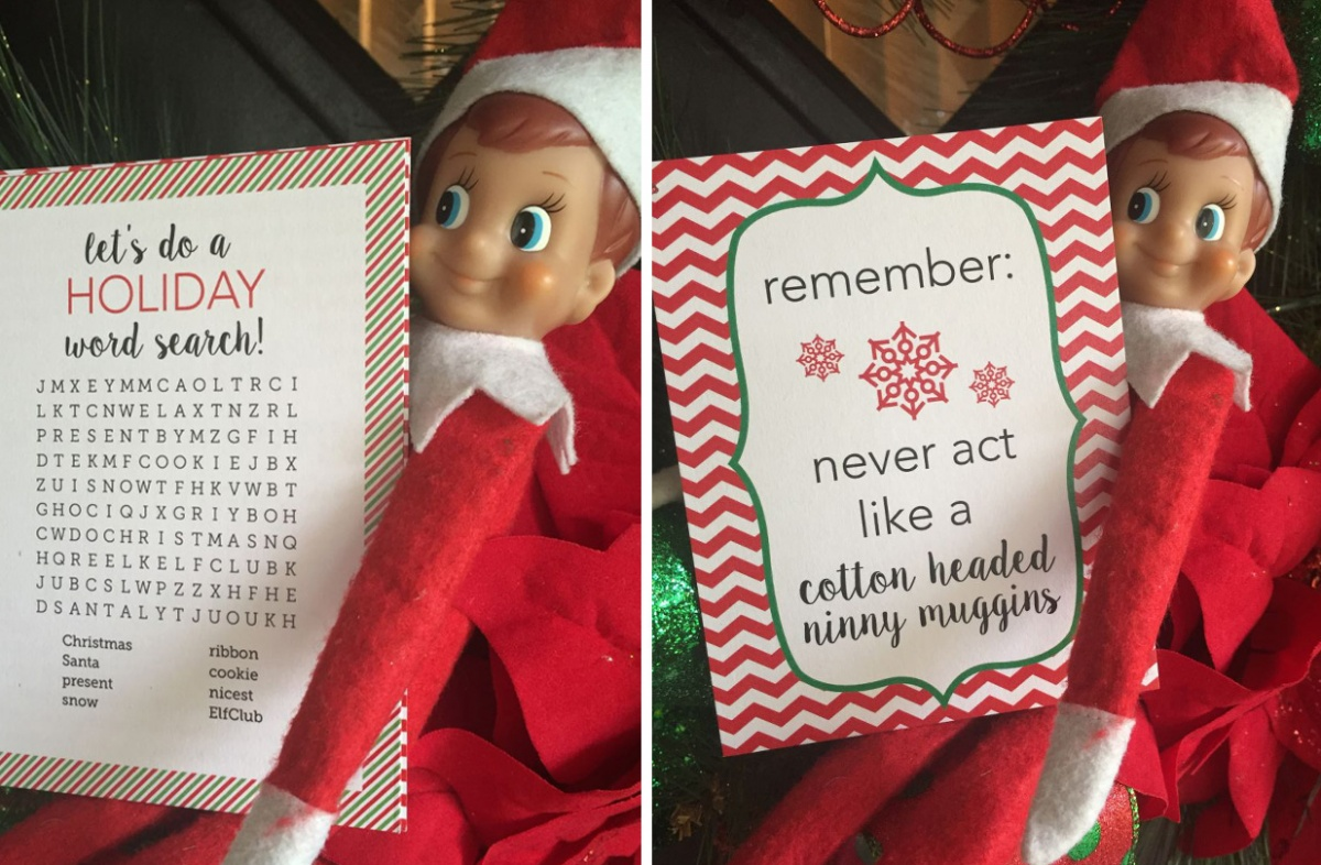 32 Elf On The Shelf Note Cards Only 1250 Become A