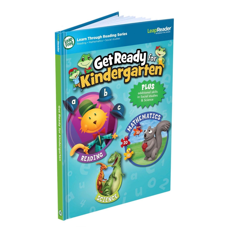 Leapfrog Leapreader Book Get Ready For Kindergarten Only