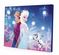 Disney Frozen Canvas LED Wall Art Only $9.99! - Become a ...