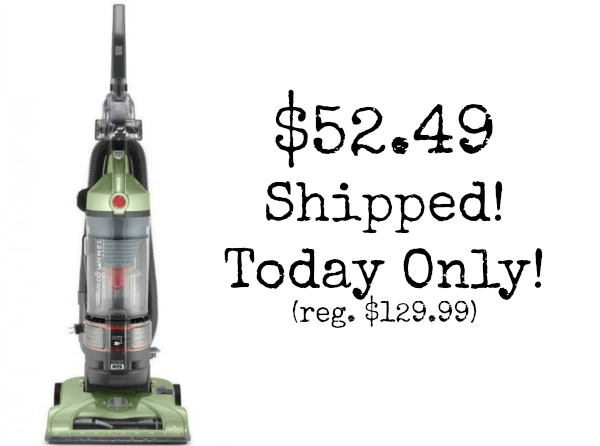Today Only! Hoover WindTunnel T-Series Rewind Plus Bagless