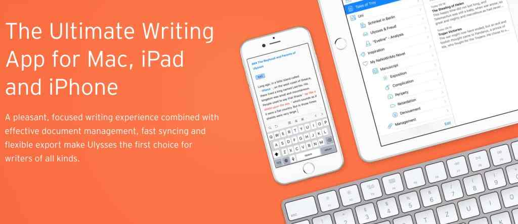 Ulysses writing app