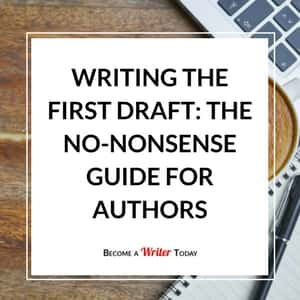 How to write a first draft