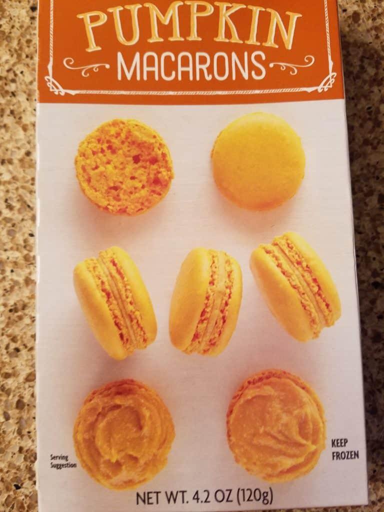 Trader Joe's Pumpkin Macarons