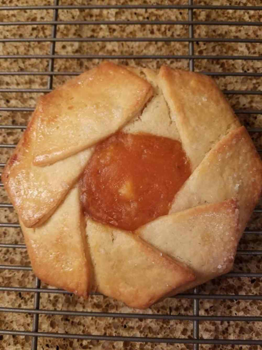 Trader Joes Pear Persimmon Tarte