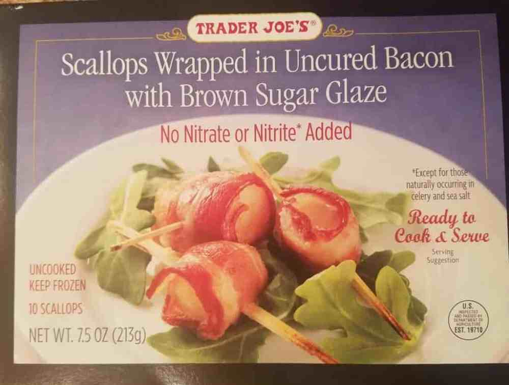 Trader Joe's Scallops Wrapped in Bacon