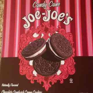 Trader Joe's Candy Cane Joe Joe's