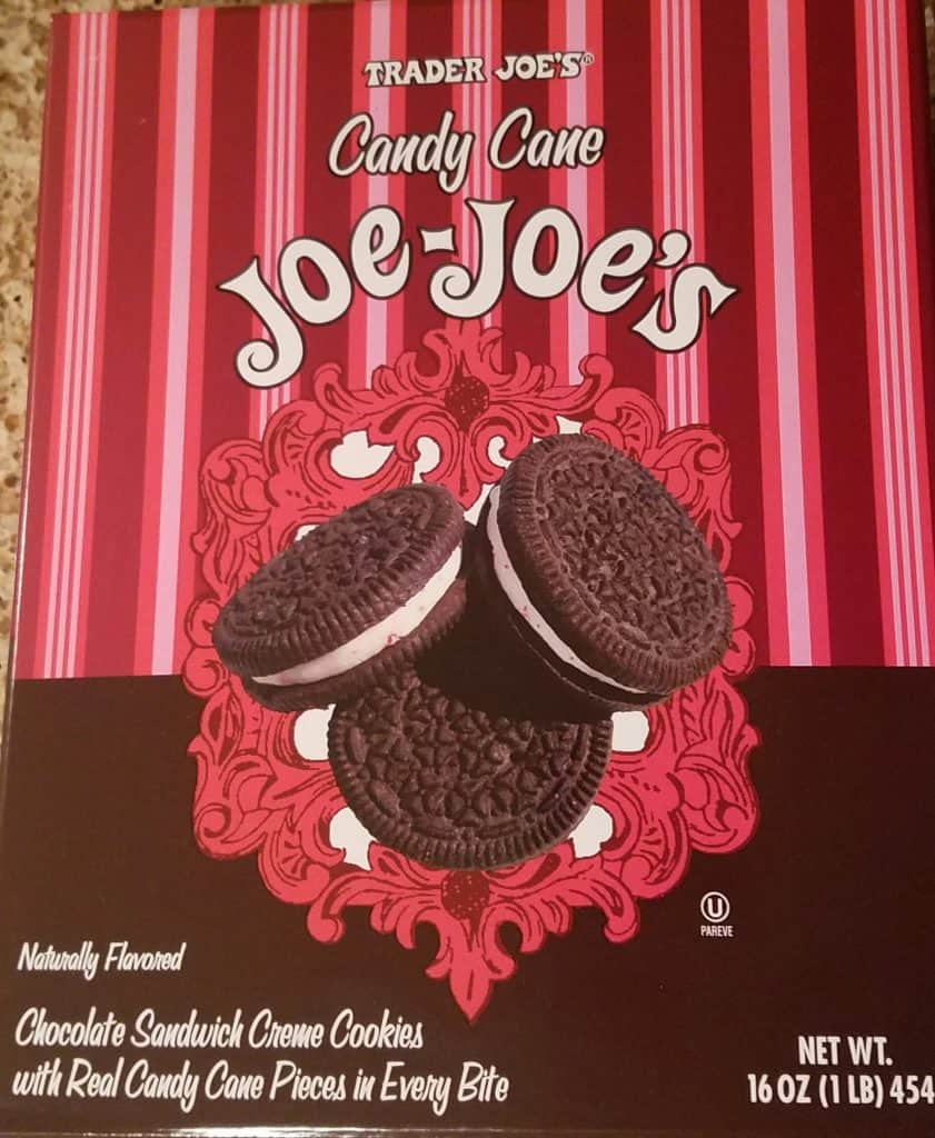 Trader Joe's Candy Cane Joe Joe's