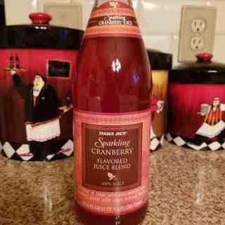 Trader Joe's Sparking Cranberry Flavored Juice Blend
