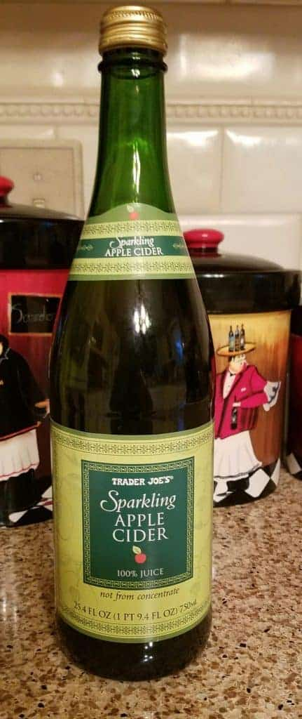 Trader Joe's Sparkling Apple Cider