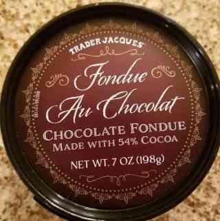 Trader Joe's Fondue Au Chocolate or Chocolate Fondue