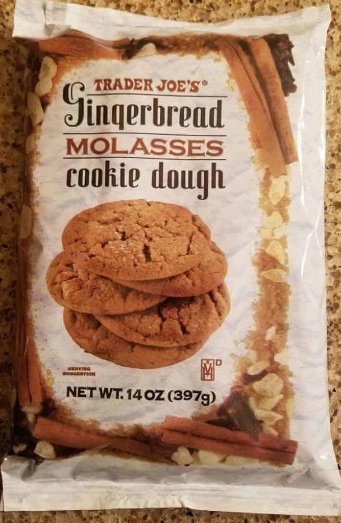 Trader Joe's Gingerbread Molasses Cookie Dough