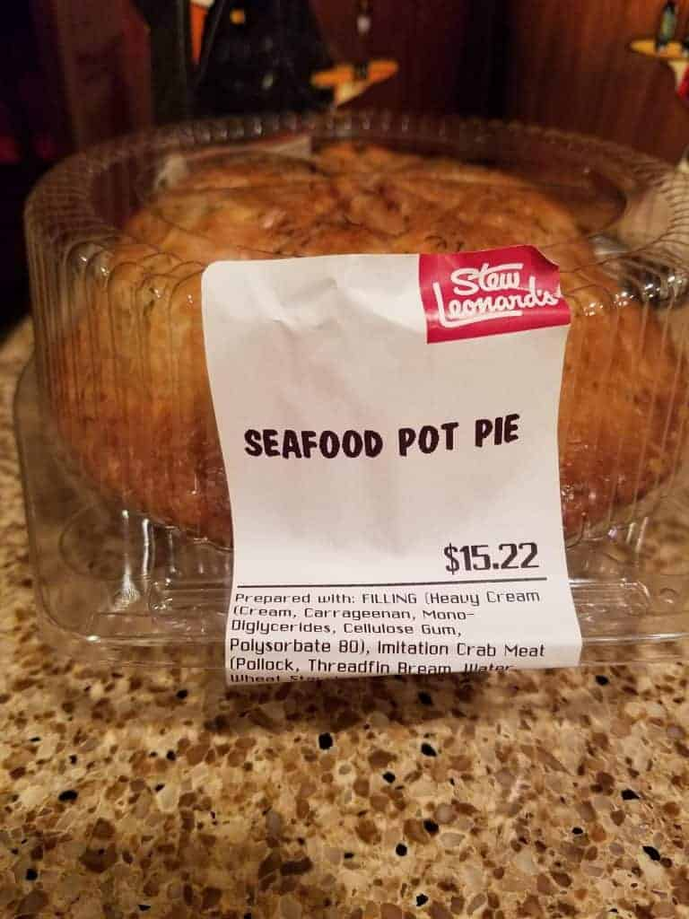 Stew Leonard's Seafood Pot Pie