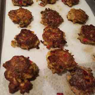 This Betty's Crab Cake Recipe using Trader Joe's Crab
